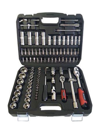 Zestaw kluczy nasadowych klucze 94el BOXER BX007S