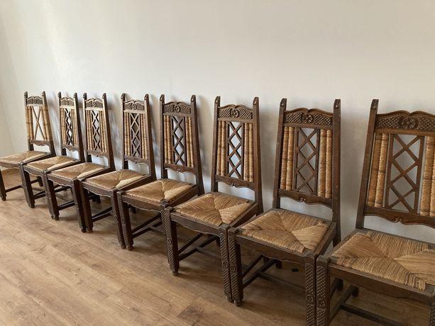 Sprzedam krzesła rattanowe