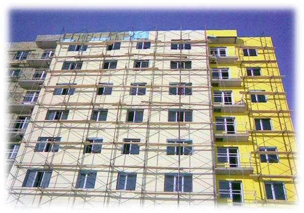 Фасадные работы любой сложности.
