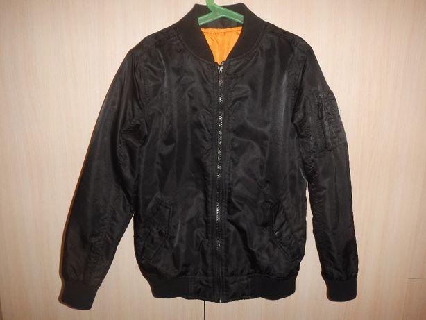 Куртка бомбер flipback р.140-146см(10-11см)