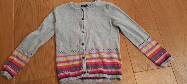 Sweterek Endo szary bawełna r. 128