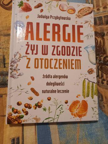 Książka Alergie żyj w zgodzie z otoczeniem