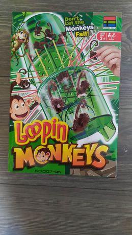 Nowa gra rodzinna spadajace małpki
