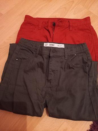 Spodnie dziewczęce 2 pary