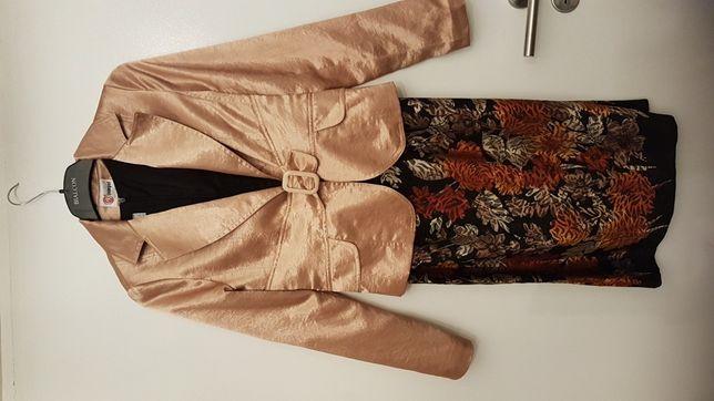 Wesele itp- żakiet +sukienka