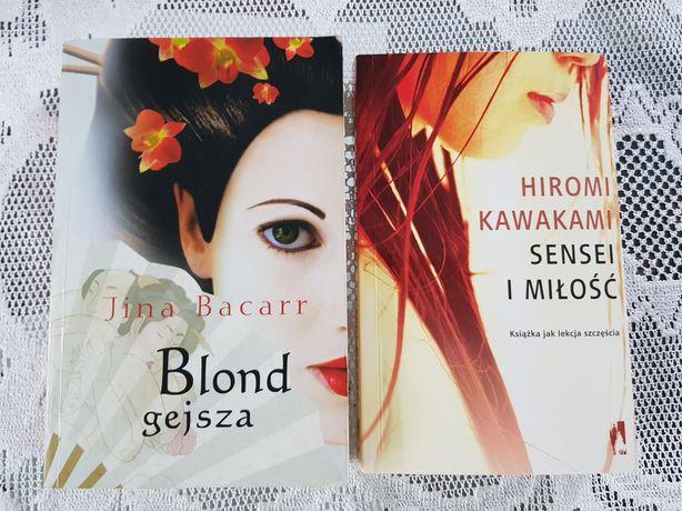 Książki Blond gejsza i Sensei i miłość