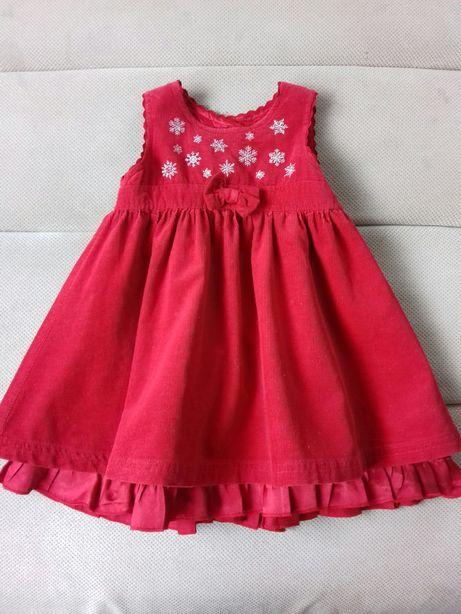 Czerwona sukienka 68