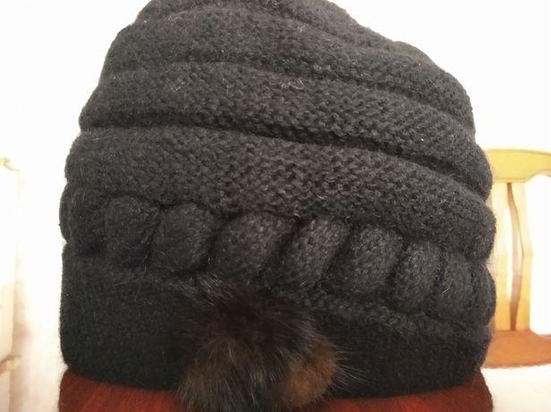 Зимняя женская шапка, берет
