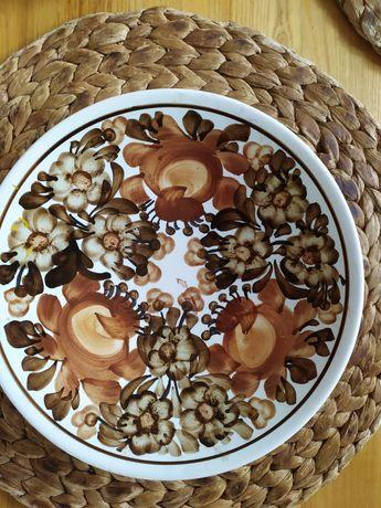 Zestaw 2 talerze ceramika Koło
