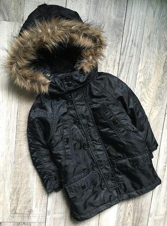 Куртка,Парка на мальчика, бренд h&m , демисезонная