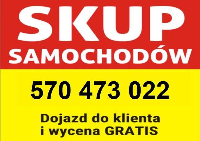 Skup Aut za GOTÓWKĘ 570.473.022 Najlepsze stawki Częstochowa Kłobuck
