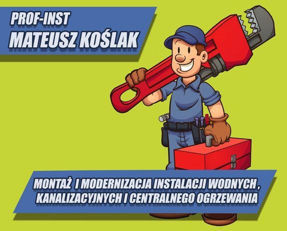 Usługi wodno-kanalizacyjne, Sanitarne oraz Cieplne Hydraulik