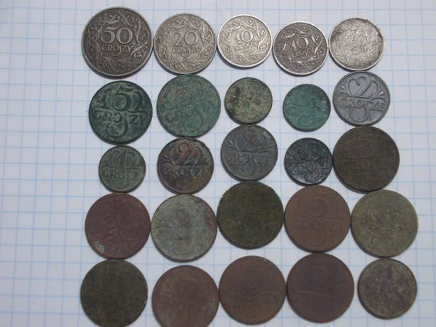 Монети Польщі 1923-1939р
