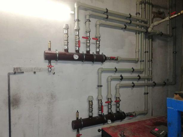 Монтаж опалення та водопідготовка
