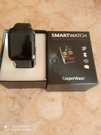 Relógio Smartwatch na caixa