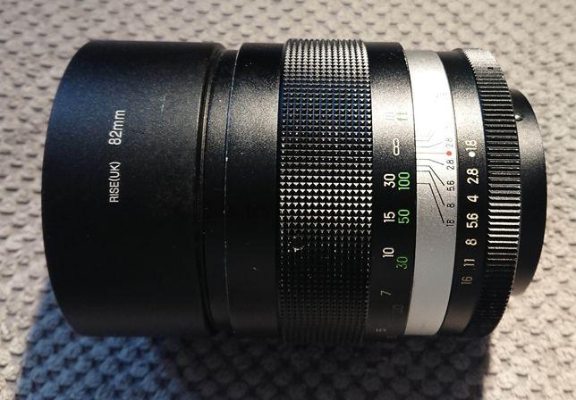SUPERJASNY obiektyw portretowy Admiral 135 mm F1.8 Sony Nikon Canon FD