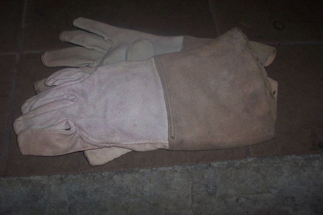 Rękawice spawalnicze - skóra PRL