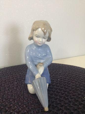 Figurka dziewczynka z parasolem Wagner&Aplel
