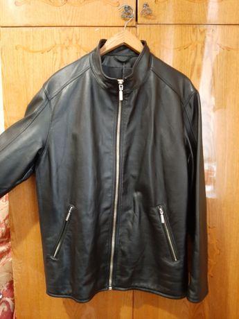 Куртка мужская из натуральной кожи (р.58)