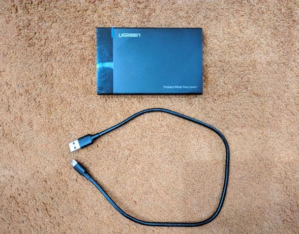 Ugreen Внешний HDD/Карман для жесткого диска 2.5/USB Type C 3.1 Gen.2