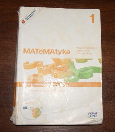 Matematyka 1 Podręcznik Nowa ERA Zakres rozszerzony Liceum i Techn