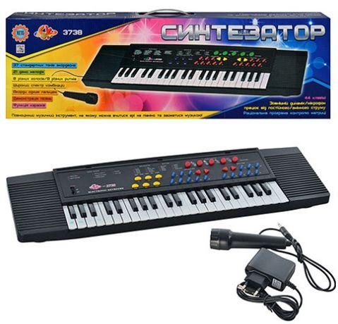 Детское пианино - синтезатор с микрофоном