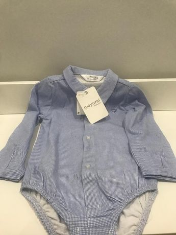Camisa body mayoral menino 18 meses