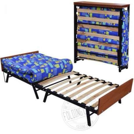 Раскладушка Диана - Модерн - Релакс ! Односпальная Кровать + Матрас !
