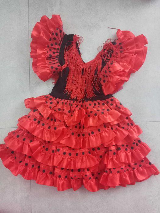 Sukienka Hiszpanka rozm. 92-98 Nowa Marki - image 1