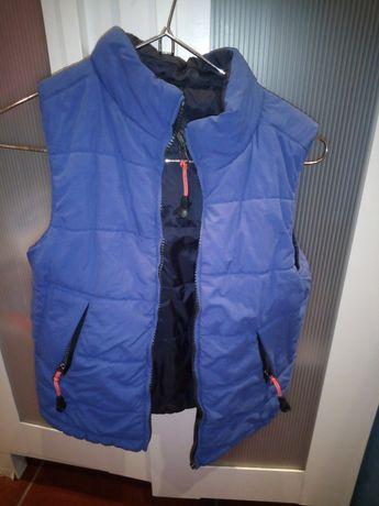 Colete da Throttleman veste os dois lados 4/5 anos
