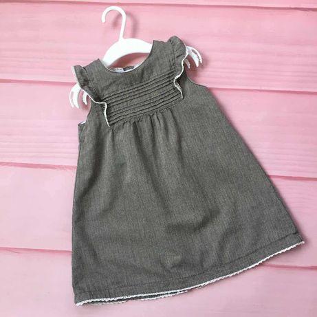 Платье H&M на девочку ростом 92-98 см