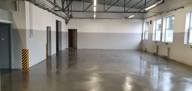Hala (Produkcja, Magazyn) 460 m2 dodatkowo zaplecze biur.-socj.