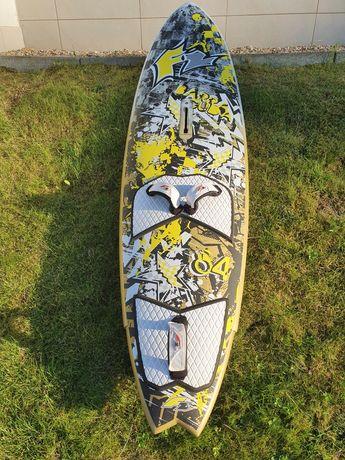 Deska windsurf F2 Barracuda wave quad 84L