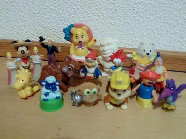 Brinquedos Kinder Surpresa, MCDonalds e outros