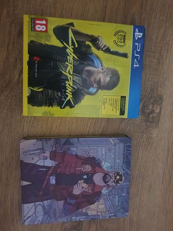 Cyberpunk 2077 PS4 + STEELBOOK + DODATKI