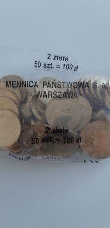 Woreczek menniczy 2zł NG Jan Paweł II 2005r
