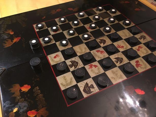 Антикварные Вьетнамские шашки/нарды