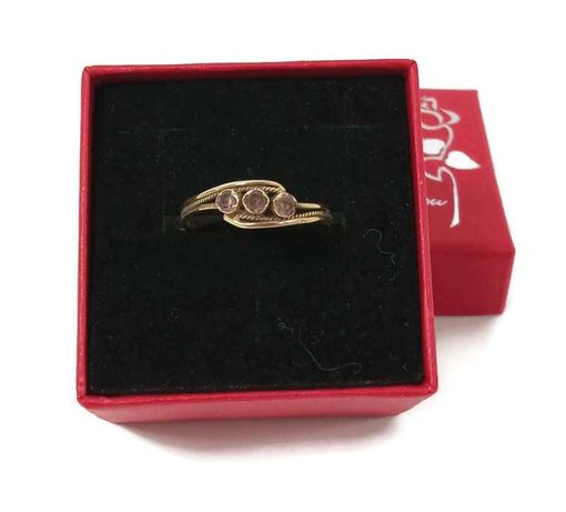 Wyrób jubilerski używany - złoty pierścionek 585/r21