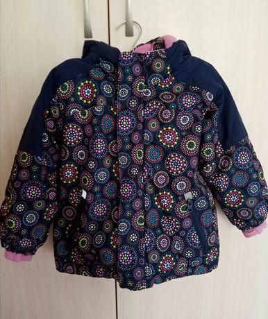 Продам термокуртку Kiki&koko на девочку(р.98)