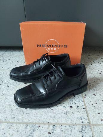 Buty komunijne dla chłopca eleganckie 36 czarne