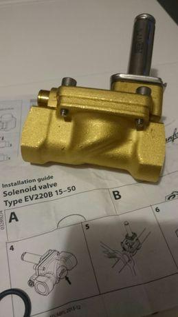 Zawór elektromagnetyczny odcinający EV220B Danfoss Cewka BG240AS
