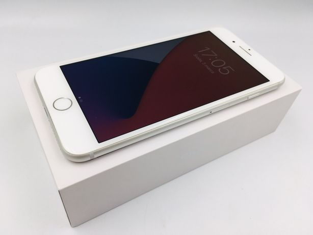 iPhone 8 PLUS 64GB SILVER • PROMOCJA • GW 1 MSC • AppleCentrum