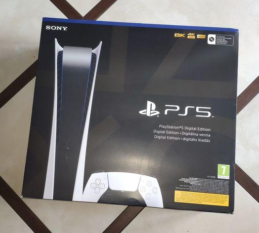 Konsola PlayStation 5 digital, nowa, zaplombowana PS5