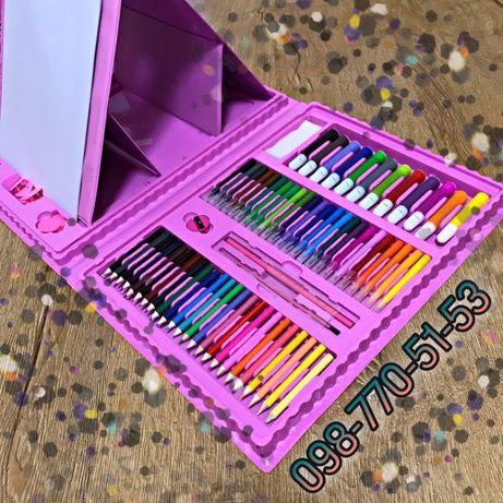 Розовый набор для рисования отличный подарок для Вашего чуда! (HG470)