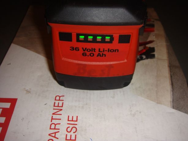 Bateria do Młoto -wiertarki Hilti Te30-A 36V Regeneracja naprawy różne