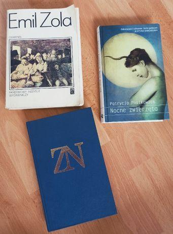 Książki różne - Zola, Nałkowska, Pustkowiak