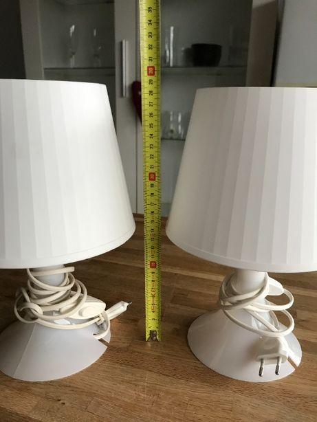 Lampki nocne białe