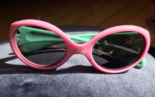 Rożowe okulary przeciwsłoneczne dla DZIECI polarycacja filtry UV