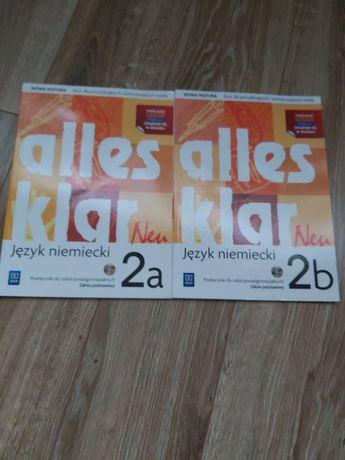 Sprzedam książki do języka niemieckiego 2a 2b