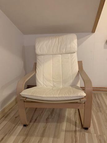 Fotel z podnozkiem ikea